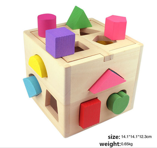 New Arrival Geometric Shape Paired Educational Toys 1 2 Years Old