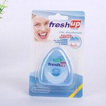 hot deal buy 1pcs 50m dental floss oral hygiene kit teeth care oral care tooth clean fio dental dentes oral dental floss