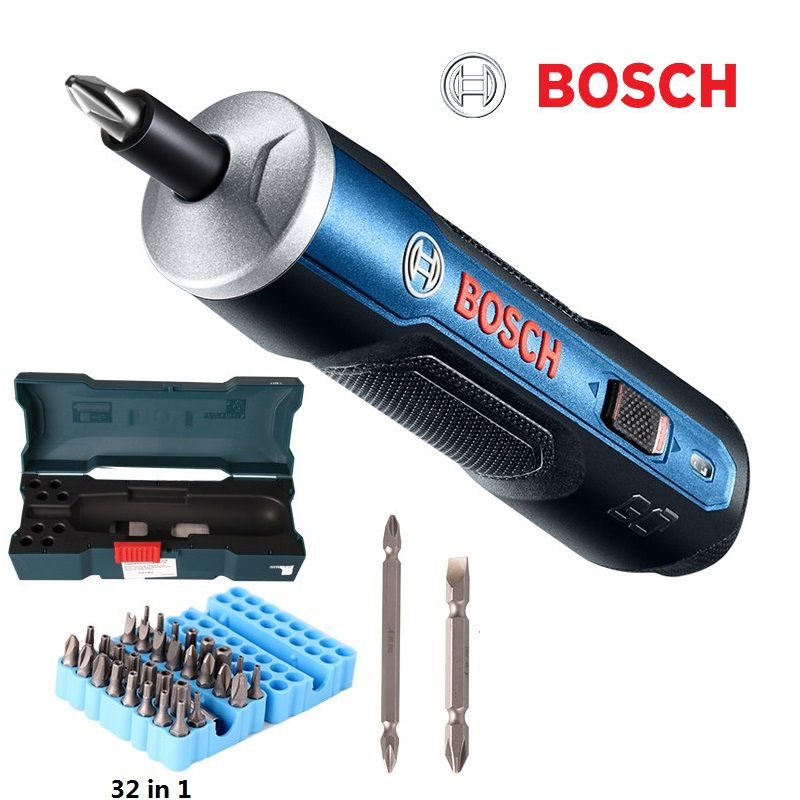 BOSCH GEHEN Mini Elektrische Schraubendreher 3,6 v lithium-ionen Batterie Wiederaufladbare Cordless Power Drill mit bohrer kits set
