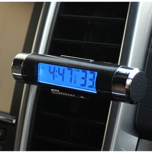 2 In 1 Car Vehicle LCD Digital