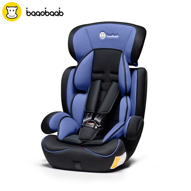 Adjustable Portable Toddler Car Seat for 1/2/3 9-36kg Child Safety Booster Seat