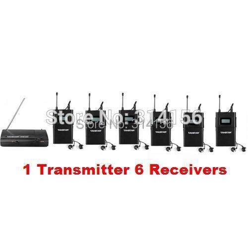bilder für Takstar wpm-200/wpm200 UHF Wireless Monitor System In-ohr Stereo Headset Bühne monitore 1 Sender + Empfänger 6