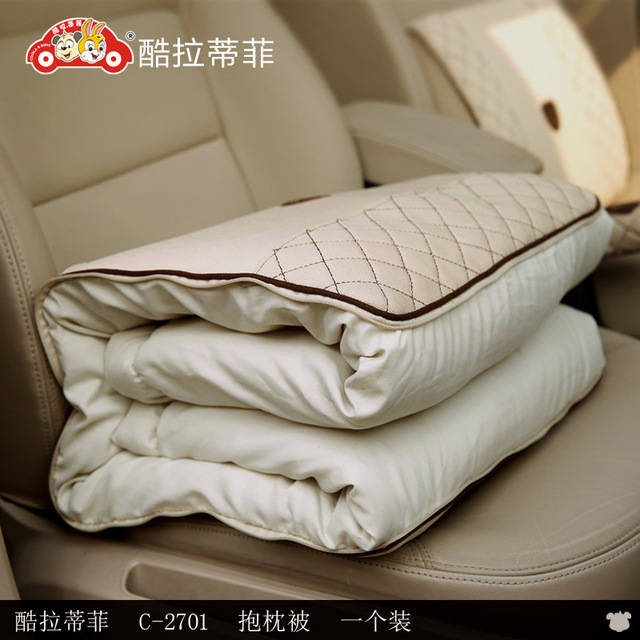 car Special-purpose quilt cushion auto supplies is high-grade imported dual-purpose cushion pillow