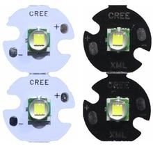 2 ADET CREE XML XM L T6 LED U2 10 W Soğuk Beyaz Sıcak Beyaz Yüksek Güç LED Verici Diyot 12mm 14mm 16mm 20mm PCB DIY