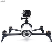 For Gopro Hero 3 / 4 / 5 / 6 / 7 Action 360 Degree VR Camera Mount Holder Body Extended Bracket for parrot bebop 2 Drone(China)