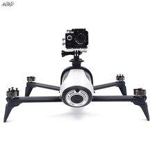 Suporte para câmeras de ação e panorâmico, para gopro & osmo, montagens, extensão de braço, corpo e vídeo, suporte estendido para papagaio, bebop 2 drone