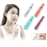 Ultrasonic Ion Facial Device Skin Care Face Lifting Hand Held Household Beauty Instrument USB Charging Electric Face Massager