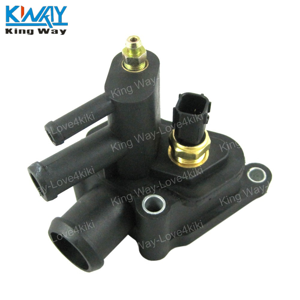 hight resolution of free shipping king way for chrysler sebring dodge stratus thermostat housing coolant air bleeder 4792630aa in thermostats parts from automobiles