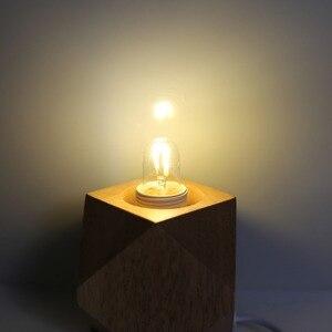 Image 3 - T20 E14 Bulb Led Edison Bulbs Vintage Filament Bulb 220V 230V 240V 1W 3W 4W 6W Tubular Antique Lamp T20 2700K Warm White
