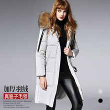 BURDULLY 2017 Winter Character Printing Duck Down Coats Hoodies Long Down Coats Female Embroidery Jacket