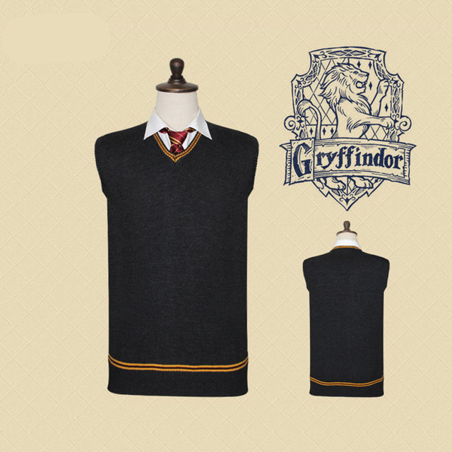 Harri-Potter-Sweater-Gryffindor-V-Neck-Harry-Slytherin-Sweater-With-Tie-Waistcoat-Black-all-match-Daily.jpg_640x640