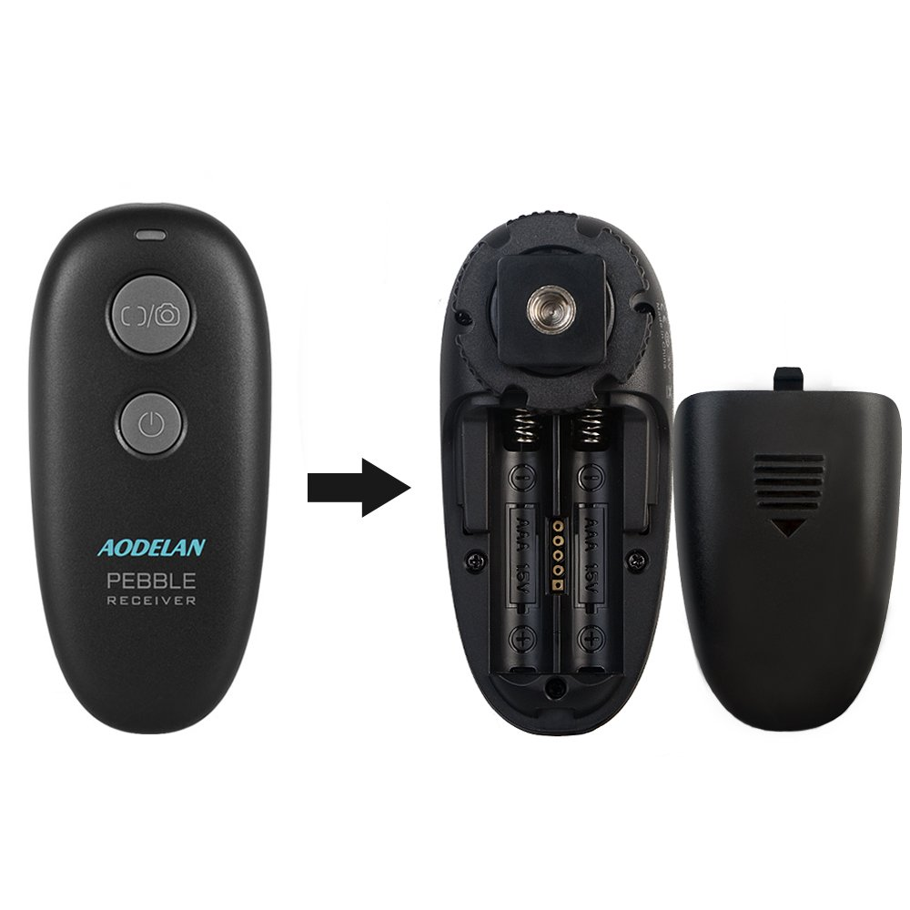 Déclencheur à distance AODELAN pour Canon EOS R, 80D, 77D, 70D, 60D, 800D, 760D, 200D, 1500D, 7D Series, 5D Series, T7 T7i - 5
