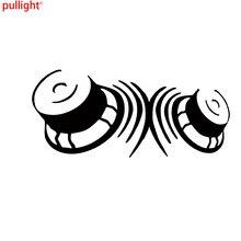 18*8cm Speakers Subwoofer Bass Sticker Vinyl Decal Car Auto Bumper  Car Accessories Motorcycle Helmet Car Styling Car Sticker 7 6cm 12 1cm heavy metal sticker vinyl decal electric bass guitar rock personality car sticker accessories black