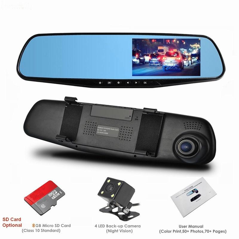 buy 1080p full hd rear view mirror dashboard camera car dvrs dash. Black Bedroom Furniture Sets. Home Design Ideas