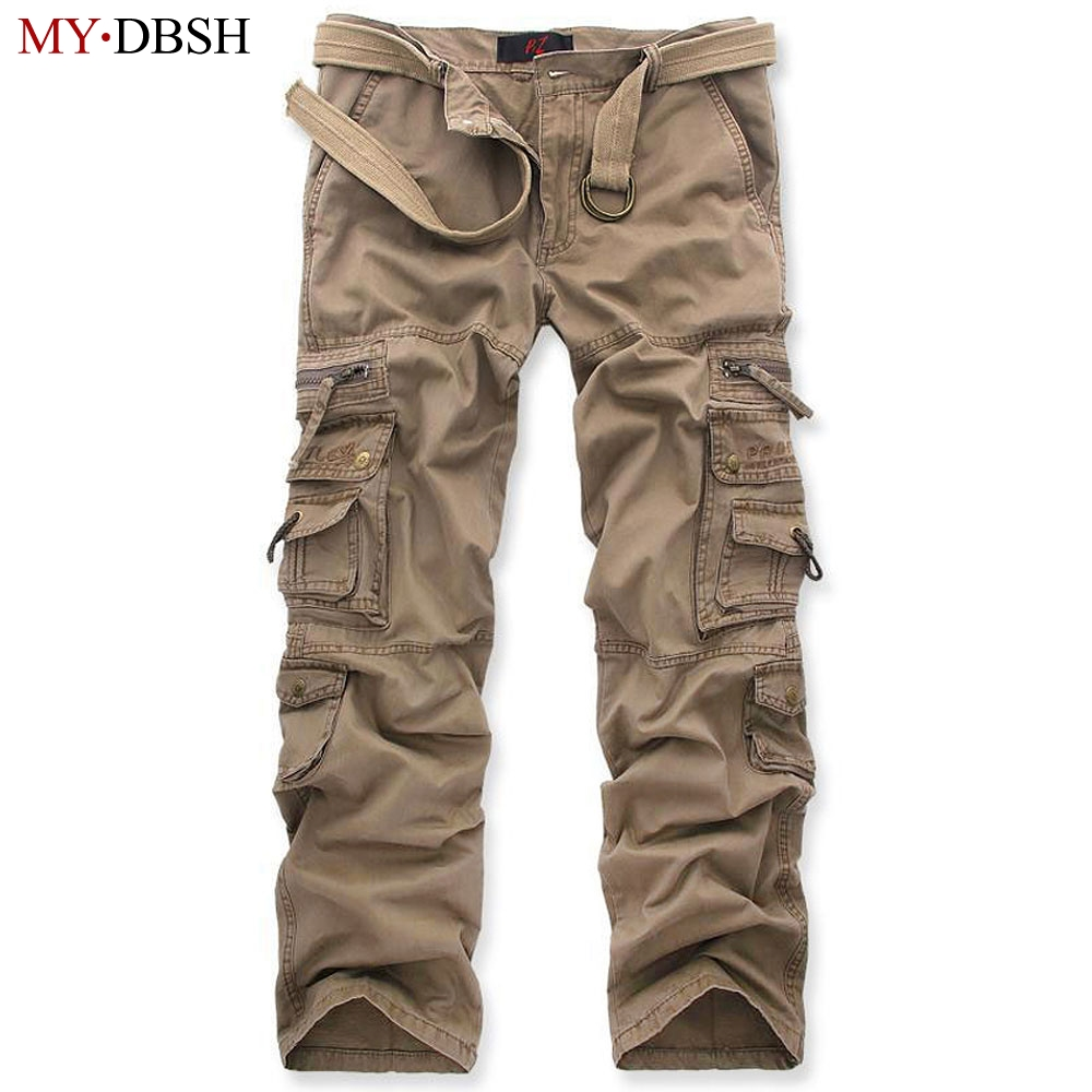 New Tactical Pants Men's Camouflage Cargo Pants Men Combat Army Train Casual Cotton Pockets Paintball Outdoors Army Trouser