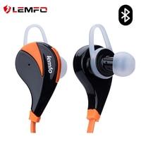 LEMFO Bluetooth Earphone 4.0 Stereo Music In Ear Colorful Sport Earphones MP3 Music Scratch Proof Wireless Earphones