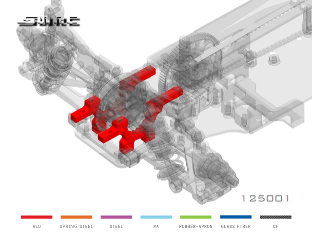 SN-RC 125001 110 RCAccessories ALU dolna SUSP. Dostosować. Przegroda (2)