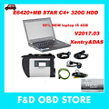 Top-Rated Wifi mb star c4 sd connect diagnostic tool with laptop+ V2017.03 mb star c4 software HDD + E6420 I5 4G laptop MB SD C4