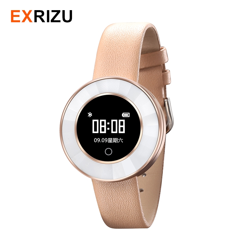 EXRIZU X6 Fashion Smart Watch Sport Heart Rate Sleep Monitor Alarm Clock Pedometer Fitness Smartwatch for Women Lady Girlfriend