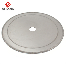 150~200mm 6inch~8inch Super-Thin Diamond Saw Blades Lapidary Cutting Disc Saws Jewelry Tools Straight Slice