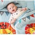 Cobertores do bebê new engrosse double layer velo envelope carrinho de bebe infantil swaddle envoltório para recém-nascidos cobertor da cama de bebê