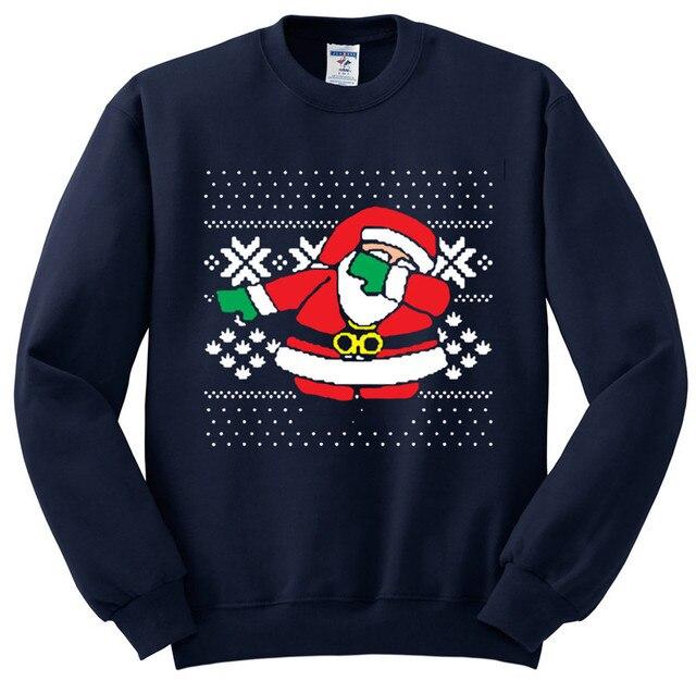 Dark Blue Mens ugly christmas sweater 5c64c1130c9df