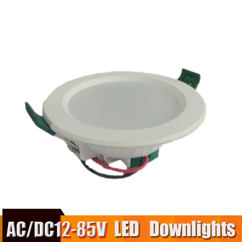 Led Panel Light Led Ceiling Downlight 12v 24v 36v 48v Recessed Round Lamp 18w 15w 12w 9w Led Lights For Home Kitchen Spot Light