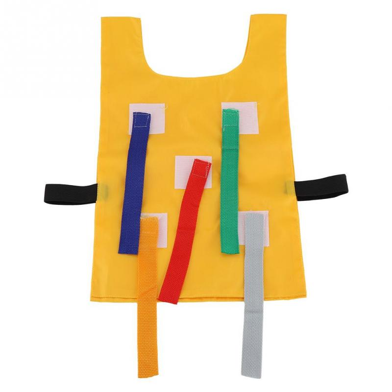 Kids Outdoor School Pull Tails Games Activity Educational Kindergarten Equipment Sports Toys for children kids funny waistcoat