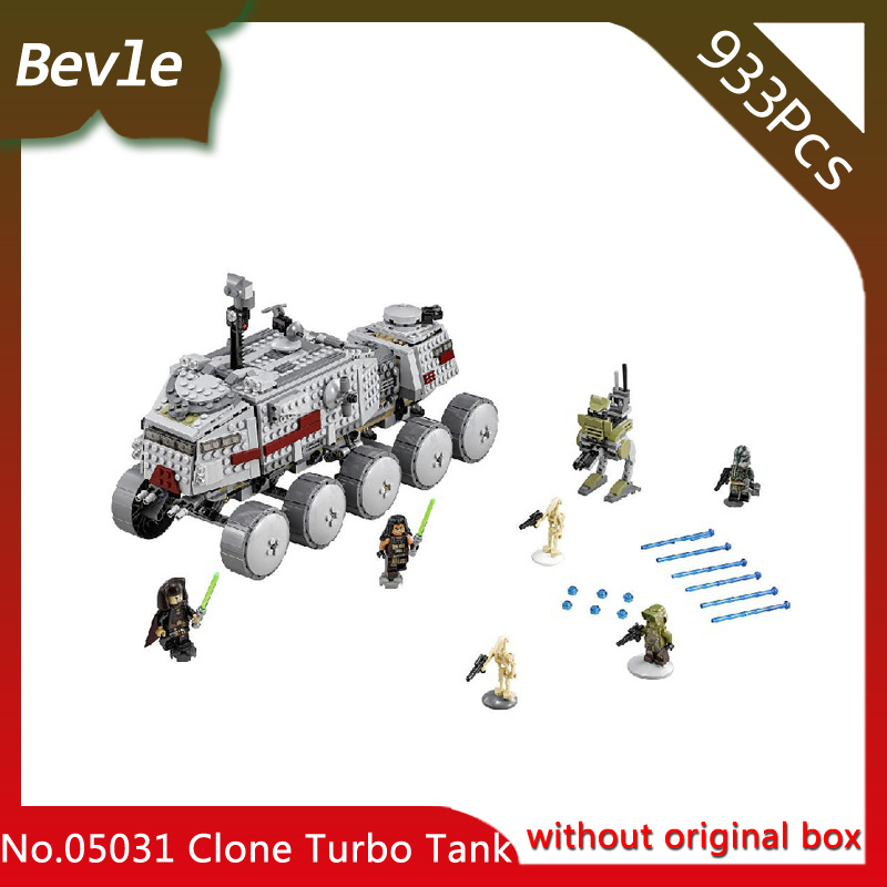 Bevle Store LEPIN 05031 933Pcs Star Wars Series The Clone Turbo Tank Model Building Blocks Set Bricks For Children Toys 75151 lepin 22001 pirates series the imperial flagship model building blocks set pirate ship lepins toys for children clone 10210