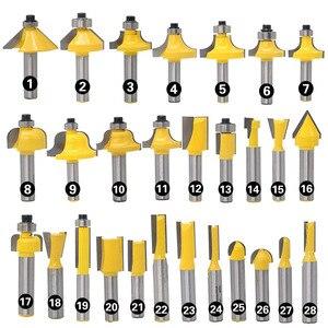 Image 5 - 1 шт. 8 мм хвостовик прямой конец мельница очистки для промывания и подравнивания Tenon фрезы по дереву угловой круглый бокс фрезы высокого качества