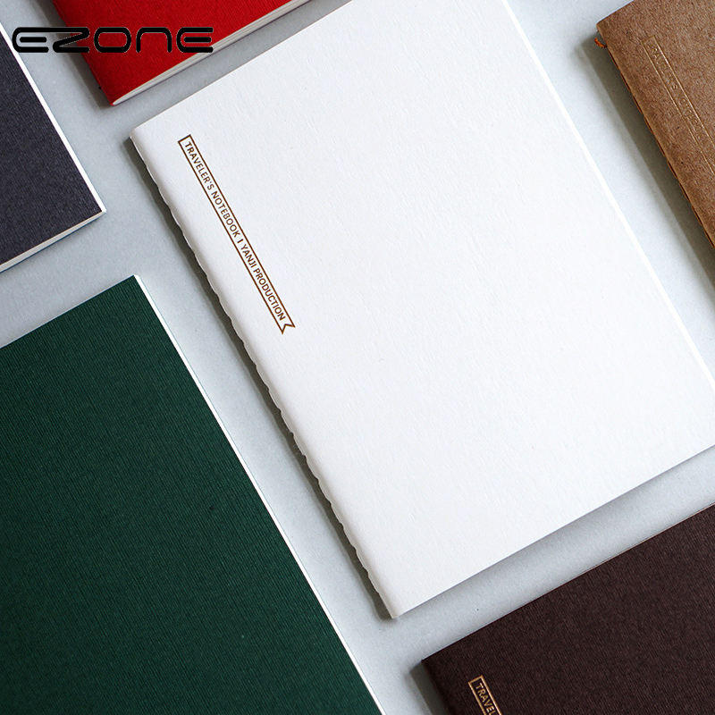 EZONE Notebook BlankLineGridMonthlyWeekly Plan Pages Candy Color Memo Pad Traveler Journey Daily Diary School Offoce Supply