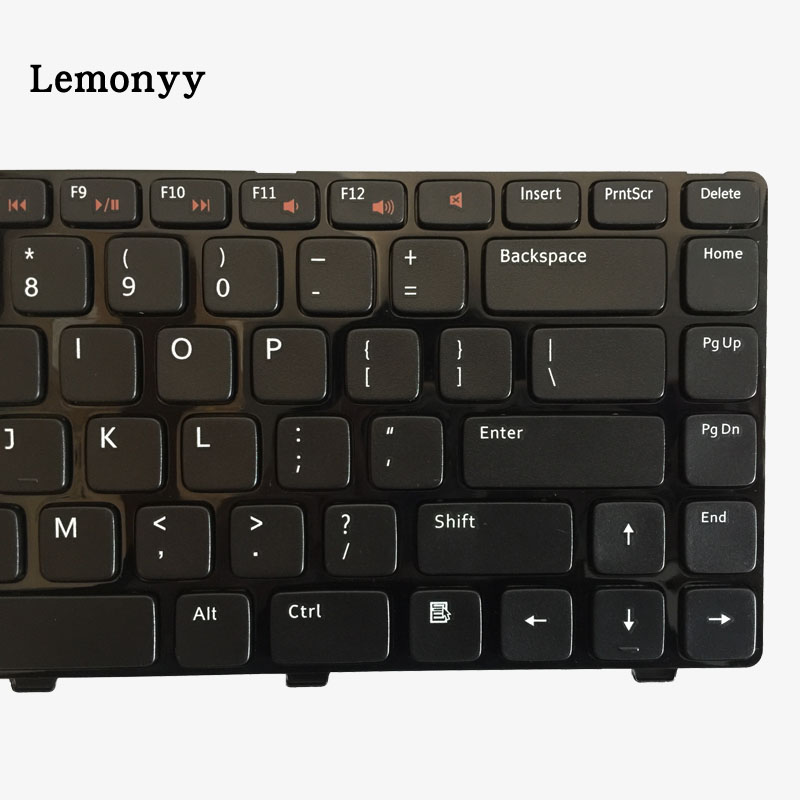 Image 3 - US Keyboard FOR DELL Inspiron 15R 5520 7520 0X38K3 65JY3 065JY3 Enginsh black laptop keyboard with frame-in Replacement Keyboards from Computer & Office on