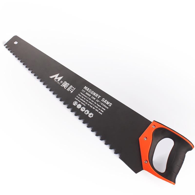 26 inch Masonry Saw Tungsten Carbide Tipped Light-Weight Brick Cutting Hand Saw Construction Tools free shipping of professional 75 72 m22 carbide tipped wall hole saw for air condtiional holes opening on brick concrete wall