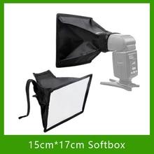 Studio Photo Accessories Universal External 15cm*17cm Foldable Flash Diffuser Softbox Reflector For All DSLR Camera Speedlites