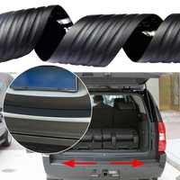 104cm 90cm Universal Car Rubber Rear Guard Bumper Protector Trim Cover Protection Anti-Collision Decorative Strip Car Styling