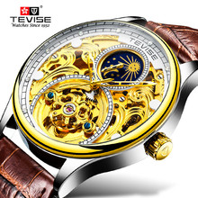TEVISE Brand Men Watches Automatic Mecha