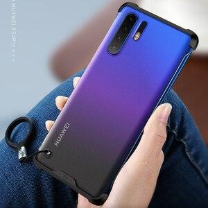 Image 1 - Per Huawei P30 Pro/P30 Caso Anti bussare Opaco Acrilico Della Copertura Posteriore per Huawei P30 P 30 30Pro più il Caso di Copertura Del Telefono Caphina Borsette