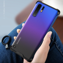 for Huawei P30 Pro / P30 Case Anti knock Matte Acrylic Back Cover for Huawei P30 P 30 30Pro Plus Case Phone Cover Caphina Shell