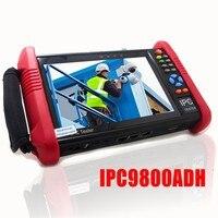 Wanglu 7 Inch 4MP IP Camera Tester IPC9800ADH CCTV Monitor 8MP TVI CVI 5MP AHD CVBS Security Camera Tester with WIFI POE Out