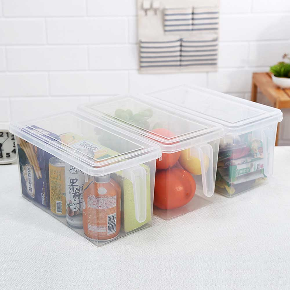 Plus Capacity Kitchen Storage Organizer Fridge Sealed Food Container