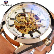 Часы наручные forsining мужские в ковбойском стиле модные брендовые