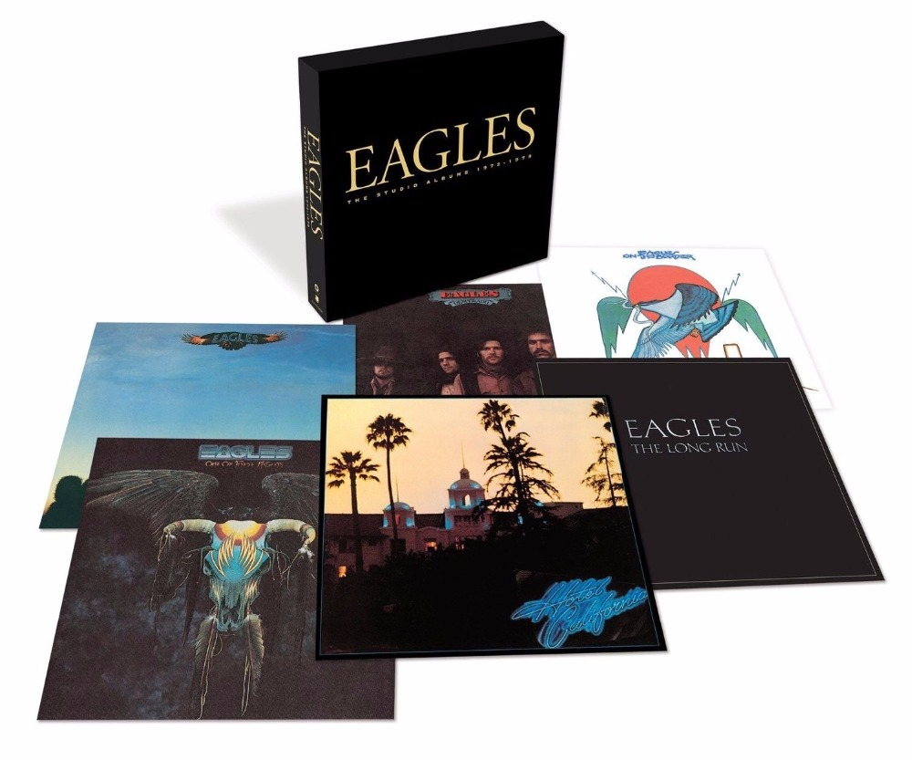 EAGLES 'THE STUDIO ALBUMS 1972-1979' (Best Of) 6 CD BOX SET (2013) cd диск pink floyd wish you were here immersion box set 5 cd