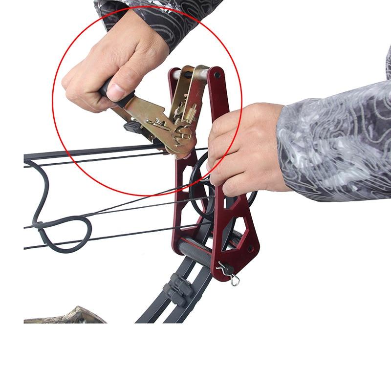 Bowmaster Portable Archery Bow Press Split Limbs L Adaptors