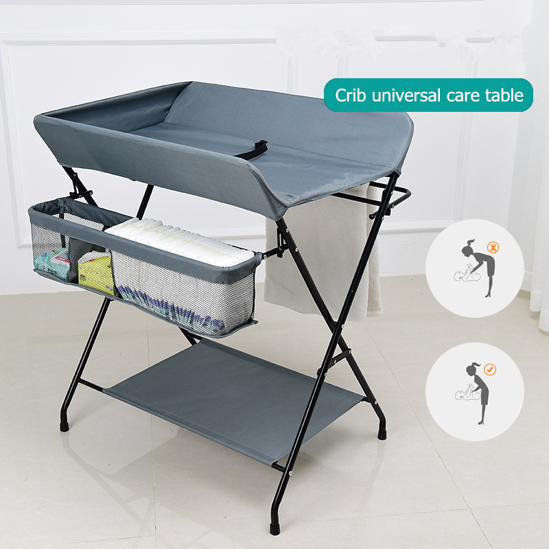 Crib Bedding Travel Cot Child Portable Bed Outdoor Multi-function Travel Portable Baby Changing Table Foldable Massage Table