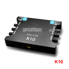 1pc K10 External Sound Card USB AUX Stereo Adapter 2 Channel Interface Converter Headphone Microphone for