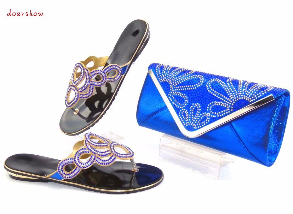 doershow fashion Shoes and Bag To Match Italian Women Shoe and Bag To Match for Parties African Shoes and Bags MatchingSet!AS1-1 good selling african women shoes and bag set fashion shoes heels 9cm italian shoes and bags to match for party as1 4