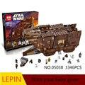 Горячие Строительные Блоки Лепин Star Wars 05038 Обучающие Игрушки Для Детей Лучший подарок на день рождения Коллекция Декомпрессии игрушки