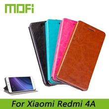 Оригинал Mofi Для Xiaomi Редми 4А Мода Книга Флип PU Кожа Сотовый Телефон Чехол Для Xiaomi Редми 4А Стенд случае