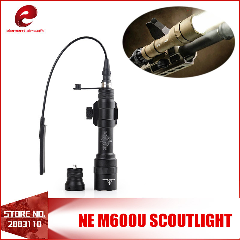 Element airsoft SF M600U SCOUTLIGHT LED FULL VERSION Tactical Weapon Flashlight