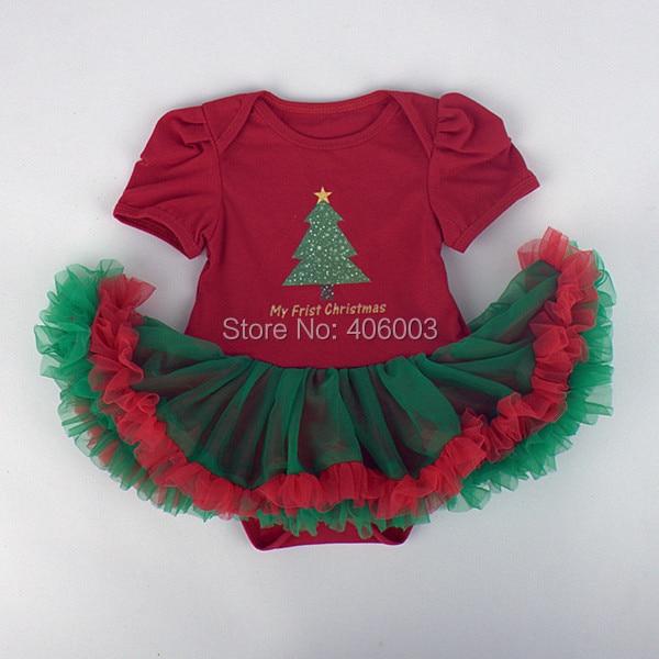 free shipping newborn princess birthday dress baby petti romper jumpers christmas petti tutu dress